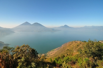 Lake Atitlán in Guatemala